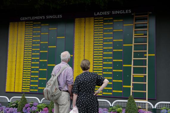 两大网球协会将设纾困基金 600万美元援助800名球员