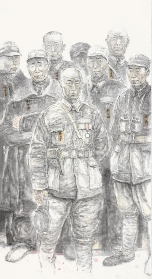 裴开元《人物画》系列之一