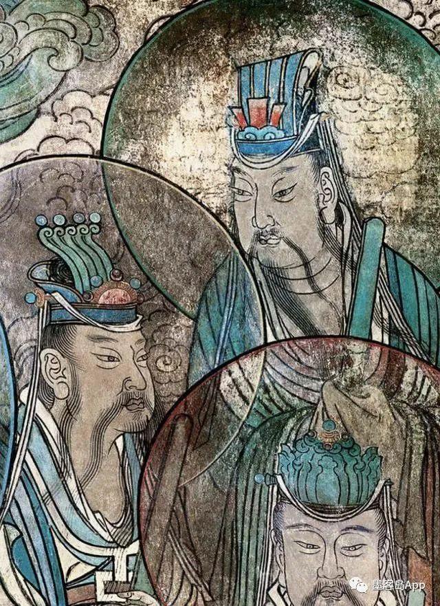 世界超级艺术:永乐宫的壁画(高清细节图)