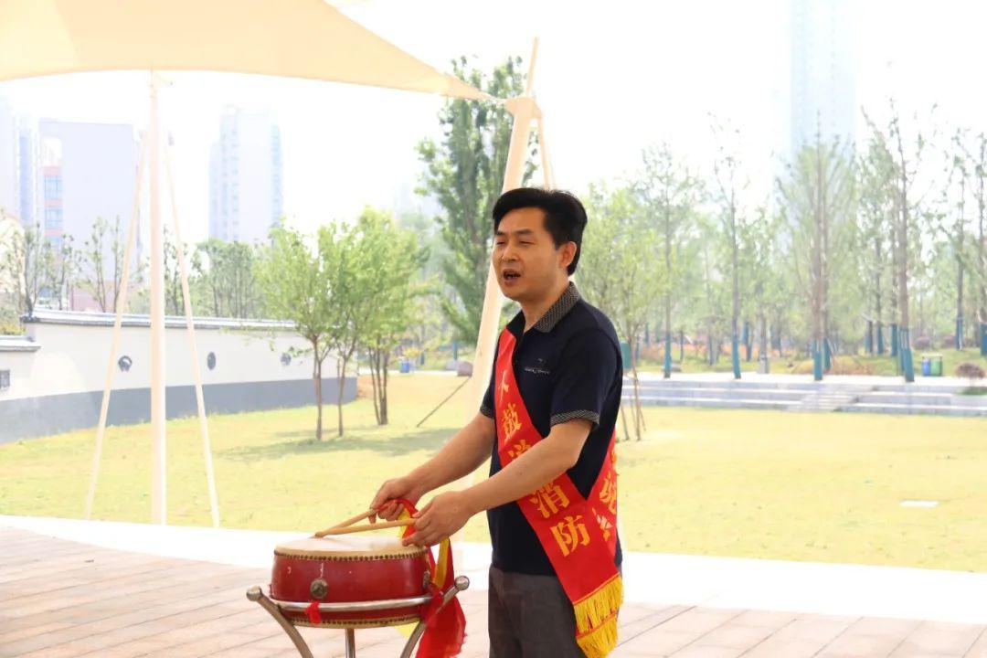 常德:湘北大鼓唱响五一消防安全曲