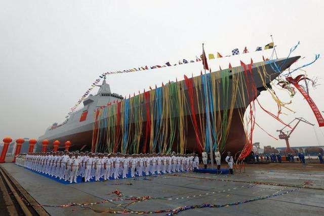 """055驱逐舰是中国海军水面舰艇发展史上具有重要历史意义的""""目标舰"""""""