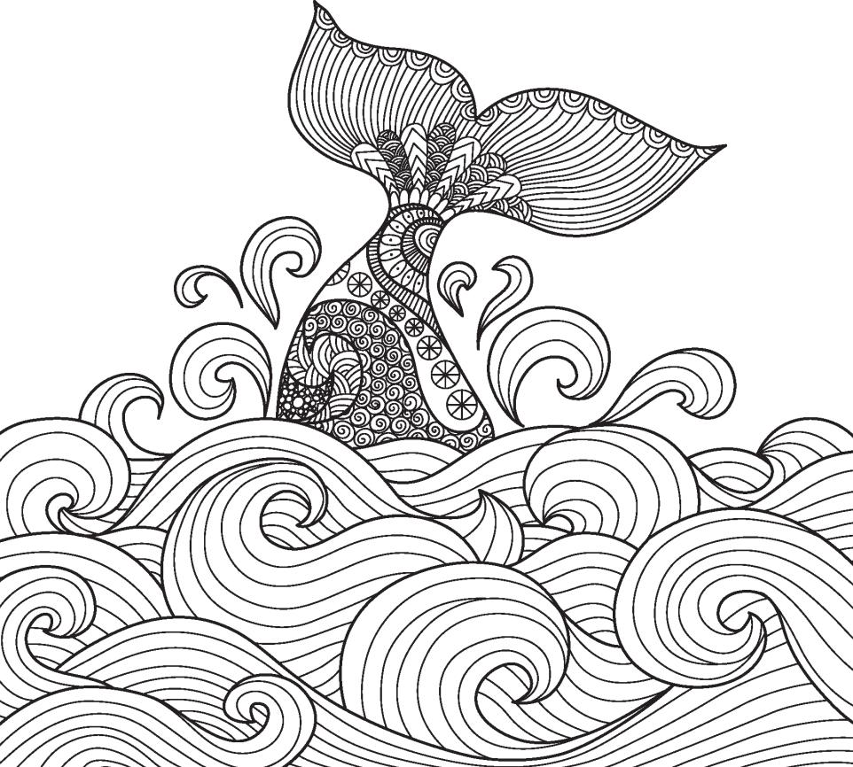手绘海浪简笔画 海浪简笔画 海浪简笔画彩色 海浪手绘 大洲网