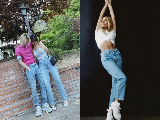 原创难怪泫雅、比伯嫂狂爱高腰款!穿对牛仔裤,腿长10公分视觉减3KG