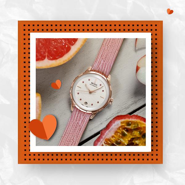 明媚暖春,甜蜜来袭 瑞士美度表520腕表推荐