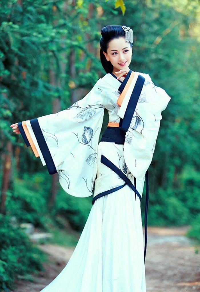 古装戏最美女明星,赵丽颖第三,第一名最美当之无愧图片