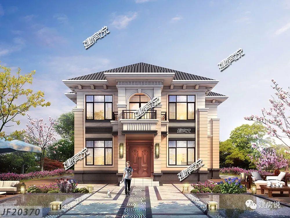 农村建房图纸:有房才有家,面宽12米,占地115平的新中式别墅,安排!