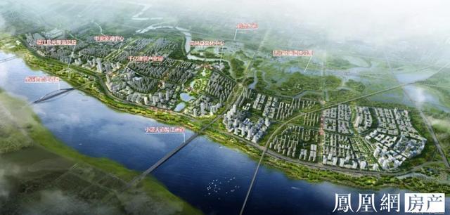 望城新区规划图