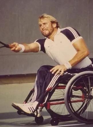 轮椅网球创始人:这项运动的发展超乎我想象