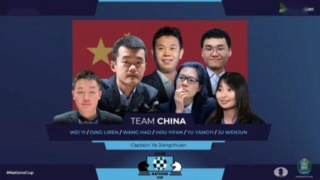 中国国际象棋队夺得国际棋联国家杯网络团体赛冠军