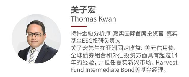 对话嘉实国际CIO关子宏:中国投资者将因ESG受益