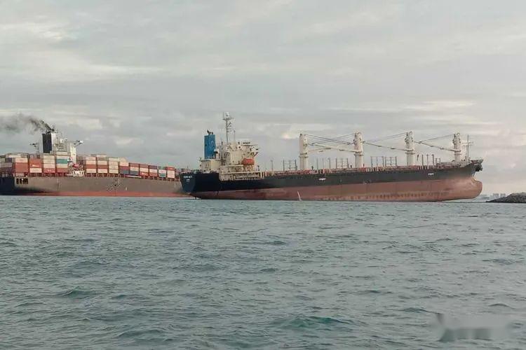 伊朗国航_两艘船舶在新加坡东向航道附近水域相继搁浅_信德海事网-专业 ...