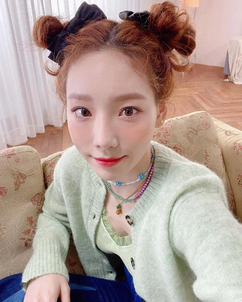 """点击泰妍新曲《Happy》收获快乐,也被她的""""花仙子""""造型迷倒!"""