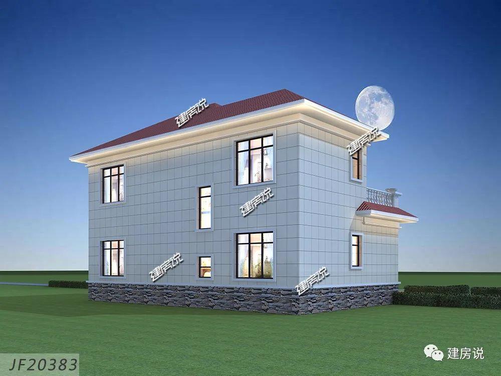 农村建房图纸:在老家建的不仅仅只是别墅,建的是家,是