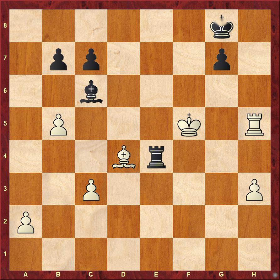 残局讲座 | 国际象棋国家杯网络赛中丁立人胜中村光