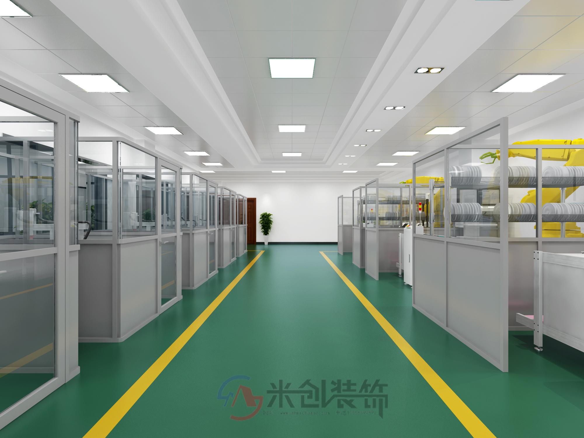 工业厂房装修隐蔽工程