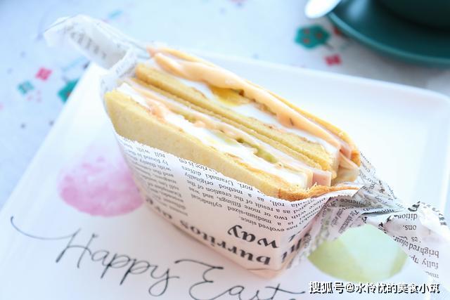 乳酪三明治,简单又营养,小朋友特别爱吃