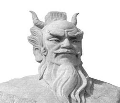 蚩尤,是上古时代九黎族部落酋长,中国神话中的武战神.