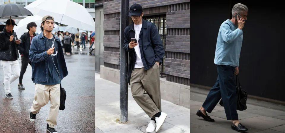 夏季男生的日常穿搭神品,选择宽裤的三大理由,让你一穿就爱上