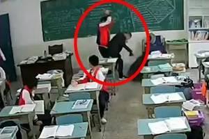 突发! 15岁男生教室里拿砖头猛砸老师后脑! 谁来拯救师道尊严?