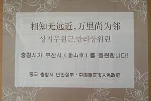 重庆回赠韩国釜山6万只口罩迪士尼在逃公主