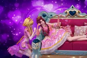原创精灵梦叶罗丽创意绘图:王默如草莓般可爱,看到灵公主的就想抱走图片