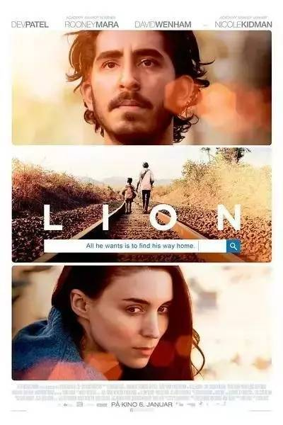我们全家活动日选择看23日上映的印度电影《雄狮》.