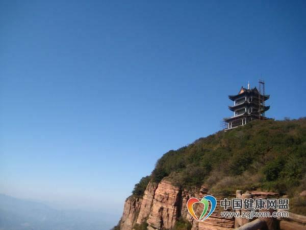 河南省洛阳市新安县黛眉山景区旅游攻略-月老峰!