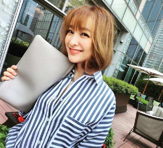 吴昕短发发型图片 新晋短发女神一枚图片