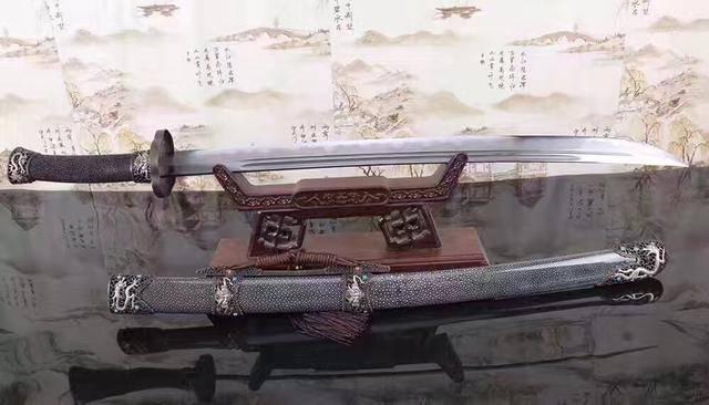 【刃材】百炼花纹钢折叠锻打:6000-8000层,古法覆土烧刃.