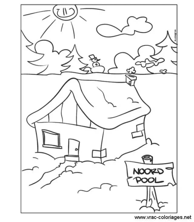 掌握这些房子和风景的画法,小孩的创作丰富多了