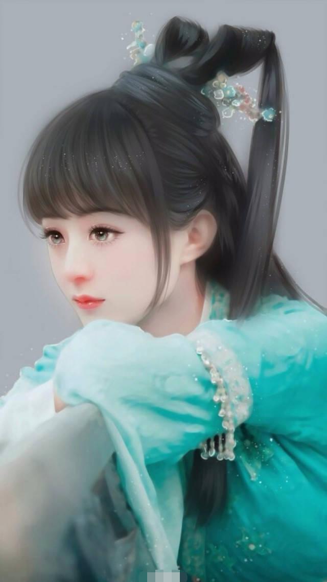 《诛仙青云志》赵丽颖 赵丽颖古装手绘图也很好看,唯美动人小清新.