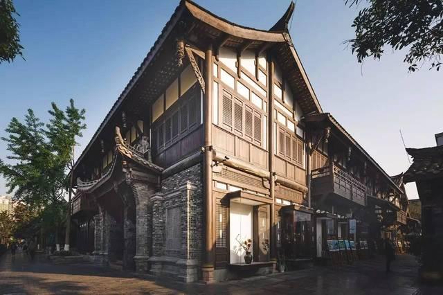 初衷在窄巷著名旅游景区成都子,v初衷机械是把建筑打造成原汁原味的项目设计素材图片