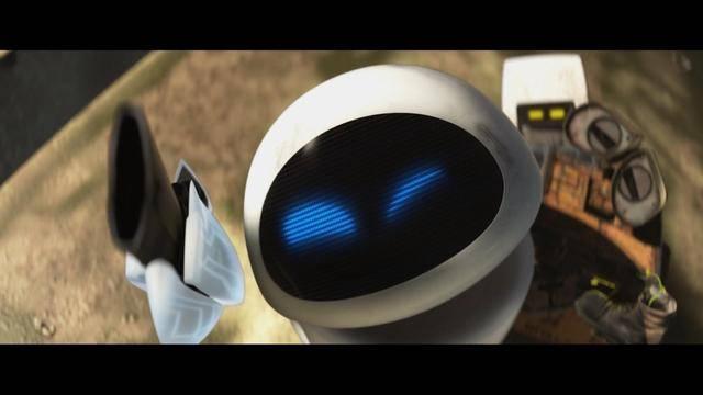 《机器人总动员》瓦力:我的暴力女友伊娃