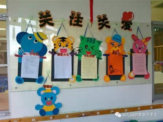 幼儿园环创主题墙:50个精选的家园共育宣传栏作品,供幼师们参考!