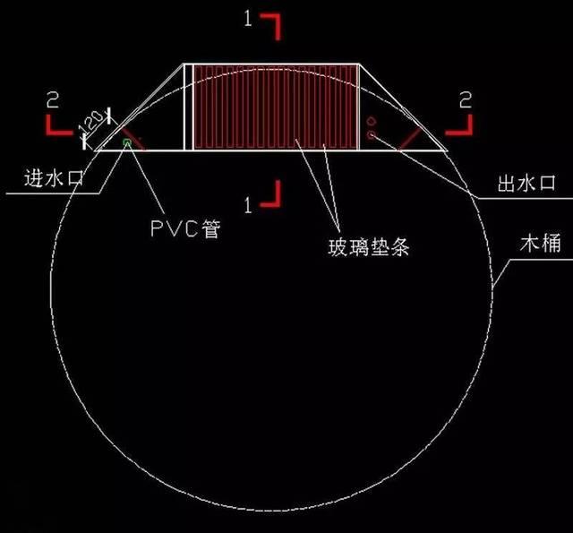 cad鱼缸平面图画法