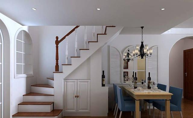 复式楼装修设计时,楼梯要尽量小些.