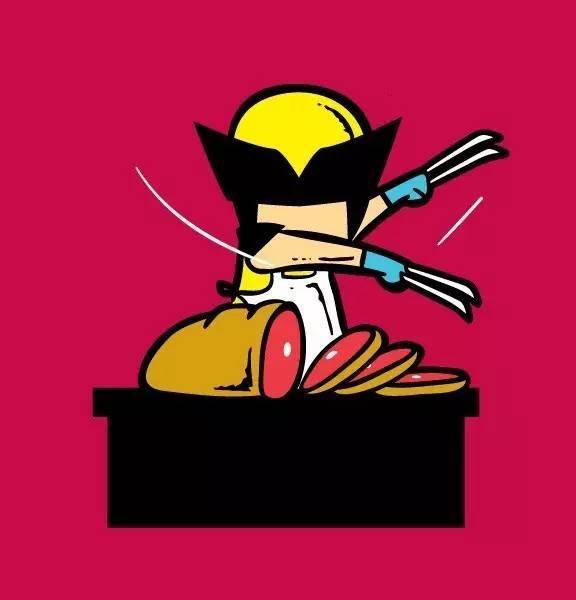 美国盘子是端队长的服务员漫画画舞法天女图片