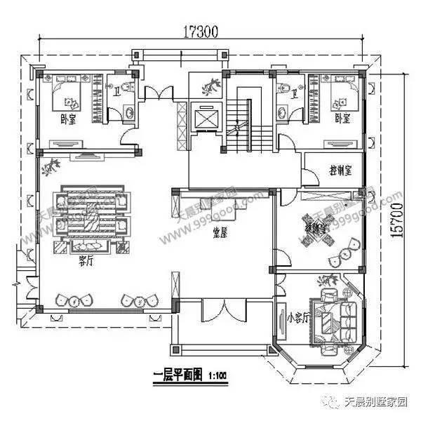 农村电梯房屋设计图
