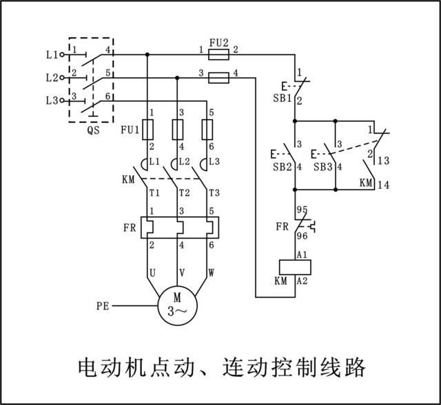 电工实操考核中,最经典的7张电路图(高清收藏版)