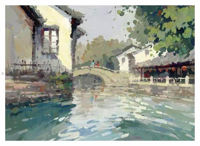 ——刘大锦 《对画——色彩风景》