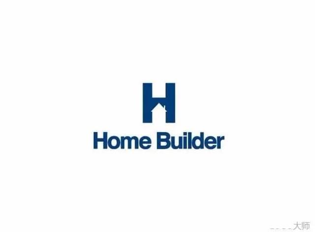 字母h创意logo设计合集图片