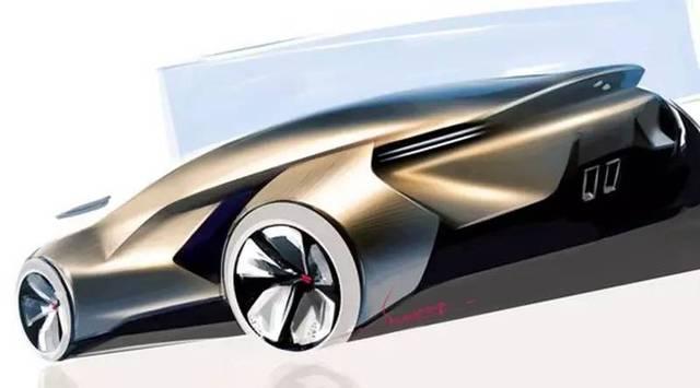 汽车造型设计的二维表现!