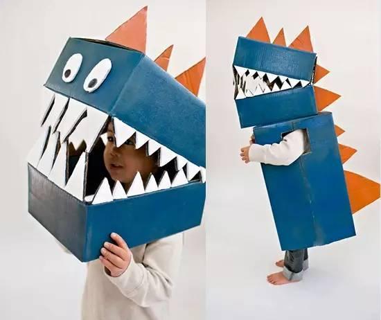 幼儿园纸箱吊饰手工制作