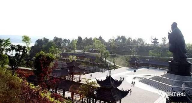 公园总体彰显中国儒家传统文化及隆昌本土特色文化,具有良好环境和