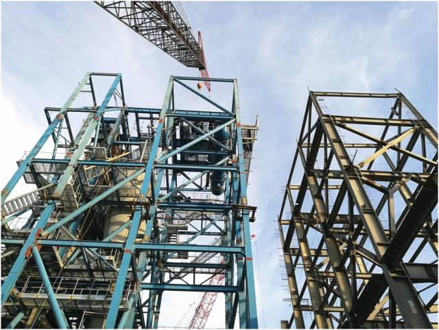 菲律宾项目的施工安装工作正处于关键时期,