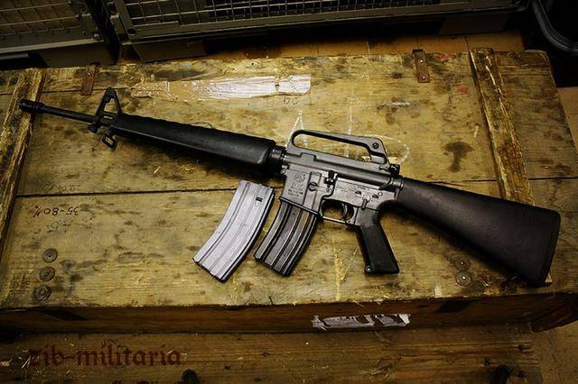 m16pw_世界六大名枪之一,m16突击步枪-美伊战争中海军陆战队