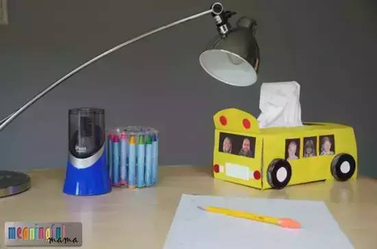 幼儿园汽车手工,汽车玩教具制作教程图解!