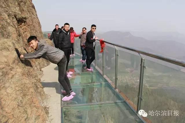 【刺激】原来哈尔滨也有玻璃栈道~另附国内十大玻璃栈道!爽不爽