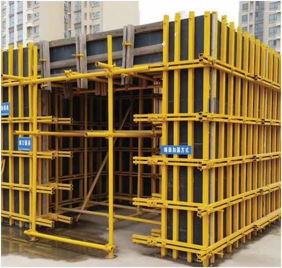 新手木工操作【天建】筑模板加固体系都这么6,你见过吗?图片