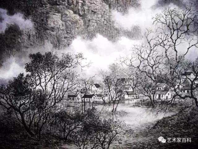 太仓风景 山水高图